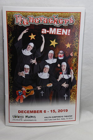 12-6-2019 Nuncrackers a-MEN Open @ Uptown Players