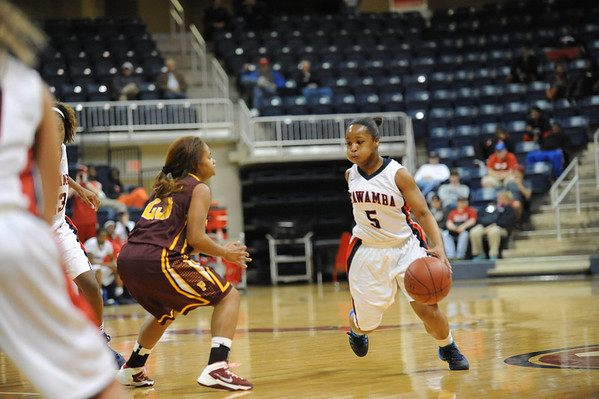Women's Basketball vs PRCC State Tourney 2014