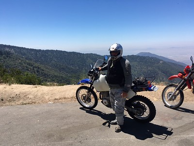 Riding In The San Gabriels