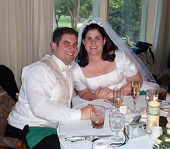 Becky & John's Wedding - June 30, 2001
