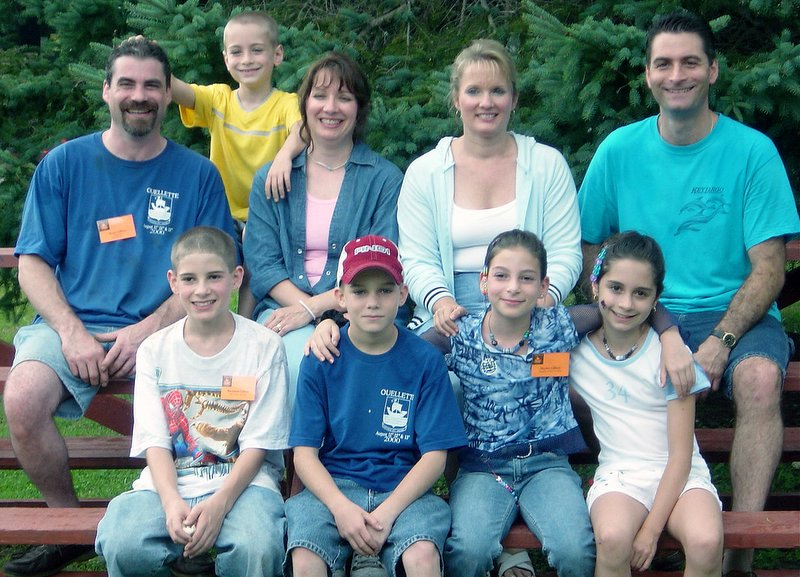 Aunt Bernadette's family.