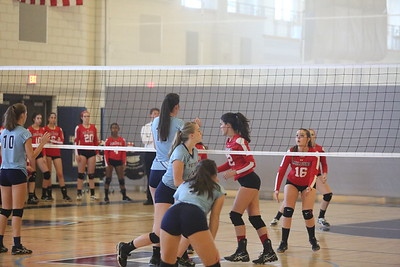 2017_9_12 Volleyball vs Milford