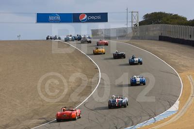 2012 RMMR Sat Group 3A Rolex Monterey Motorsport Reunion Race Group 3A