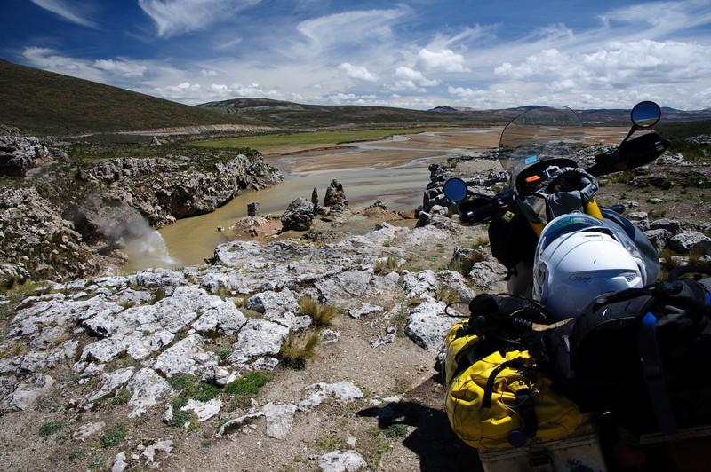 Thermal Geyser in Peru