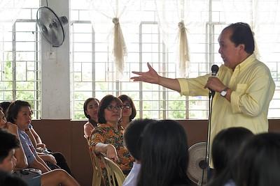 2014 Parent Teacher Conference w: Prof. Henry Tenedero