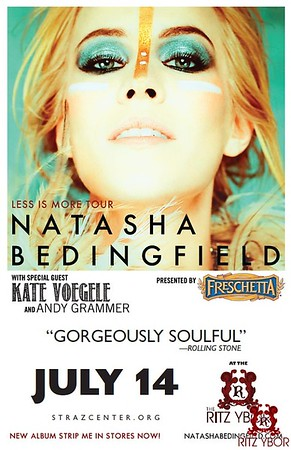 "Natasha Bedingfield ""Less Is More Tour"" July 14, 2011"