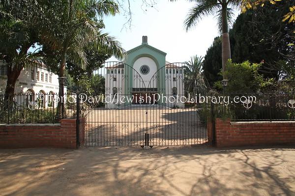 ZIMBABWE, Harare. Sephardi Hebrew Congregation (8.2012)