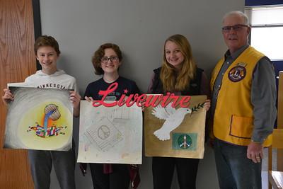 JCC Middle School Peace Poster Winners 2018