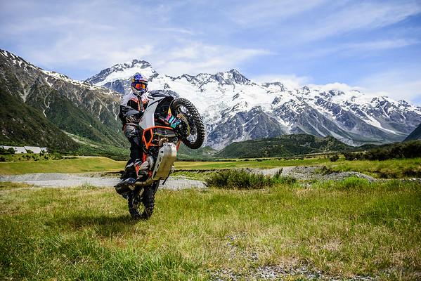 2017 KTM New Zealand Adventure Rallye : Southern Alps