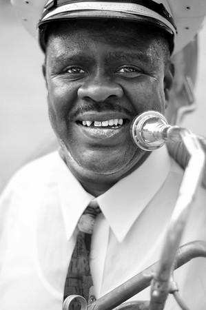 Tuba player.  New Orleans, Louisiana -2006