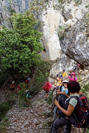 Mérindol - Portalas, Roque des Bans, Grottes des Vaudois