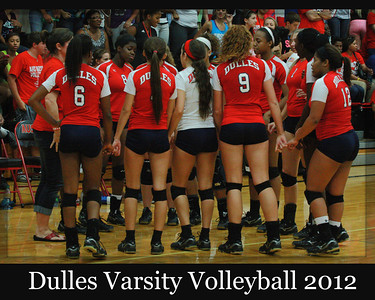 2012 Dulles Varsity Volleyball
