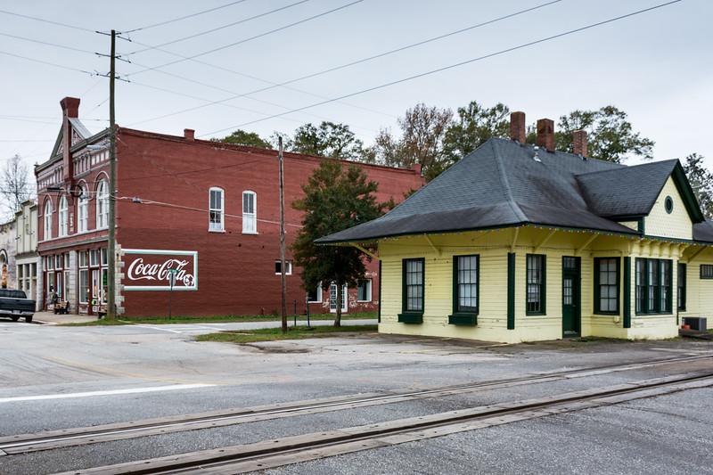 GA, Grantville - Coca-Cola Wall Sign