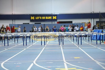 Girls' 60M Hurdles - 2014 Feb 13 MITS at UM