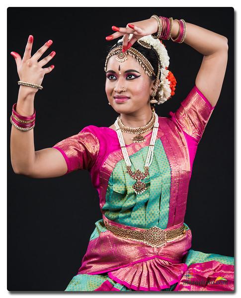 Neha's Pre-Arangetram Portraits 2018