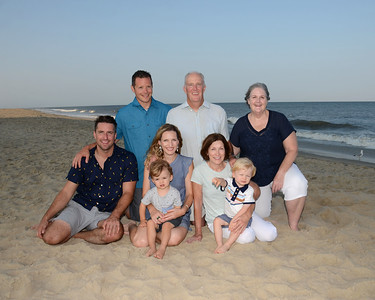 McClelland Family Beach Portraits Aug. 26, 2018