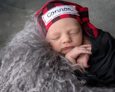 Connor Michael West newborn