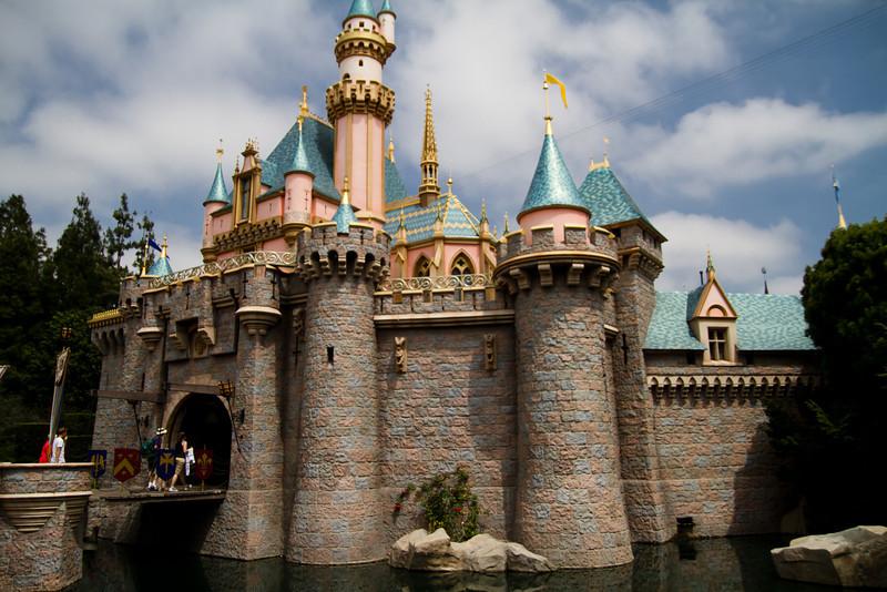 Sleeping Beauty's Castle in Daytime