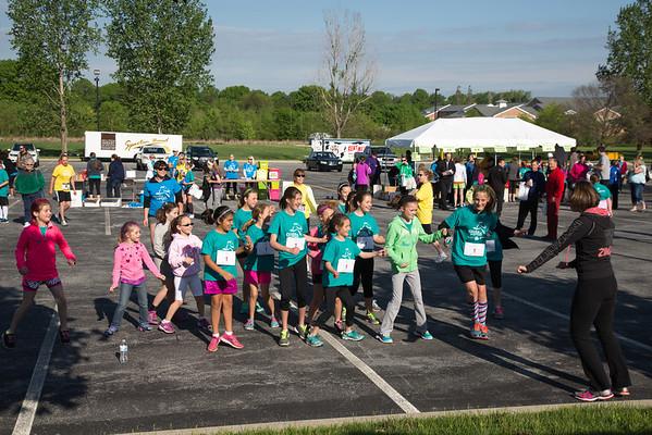 Girls on the Run Race Photos