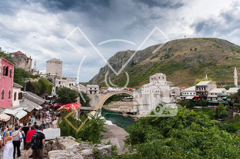 Stari Most 'old bridge' in Mostar
