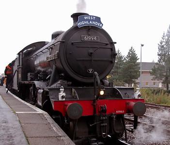 West Highlander, 27 September 2009: Fort William - Carlisle