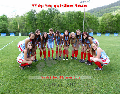 PV Girls Varsity Softball 2011