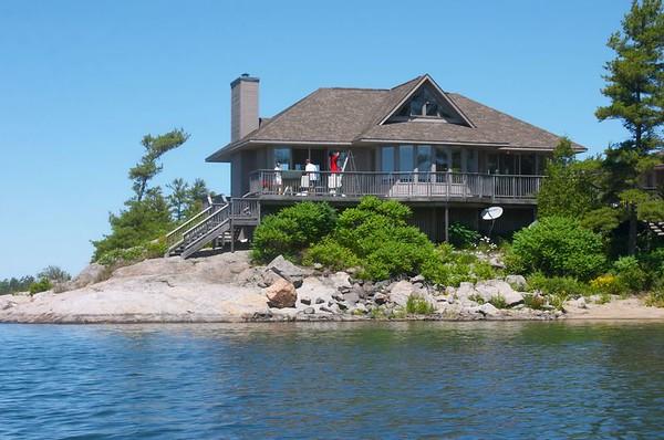 Parry Sound Cottages- July 7, 2005