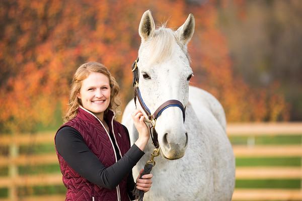 Heather and Izzy- Equine
