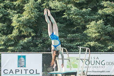 Swim - 2014 All-City Dive 13-14 Girls