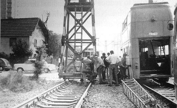 Čengić Vila - remont tramvajske pruge