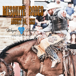 Mesquite PRCA Rodeo August 14, 2021