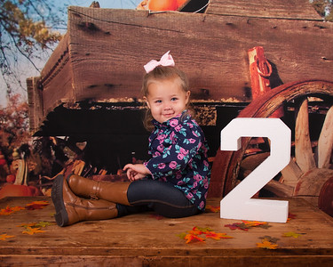 Olivia's 2 Year Pictures