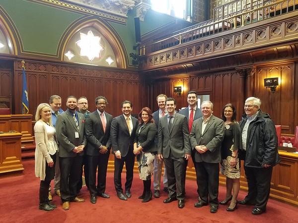 Bizzarro and city officials