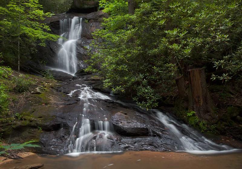 Falls on Edmundson Creek, Lumpkin County