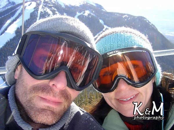 2008-01-25 & 2008-01-26 (Snowboarding Lake Louise)