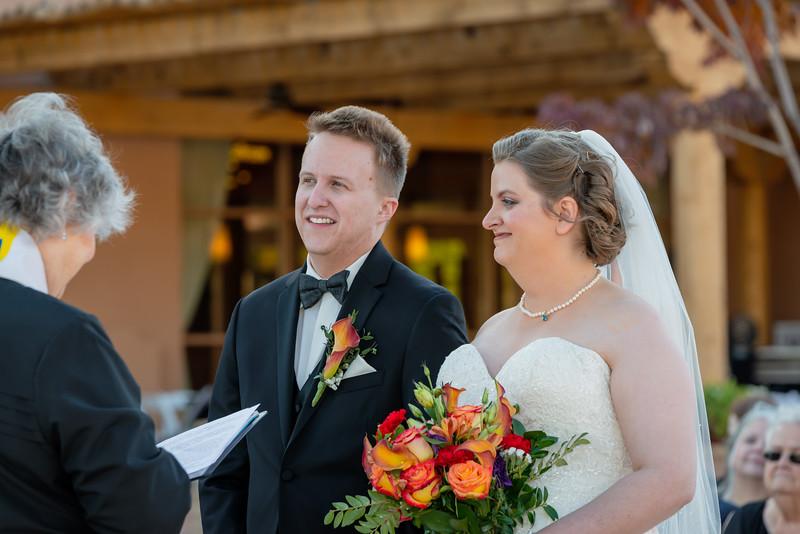 Sandia Hotel Casino New Mexico October Wedding Ceremony C&C-90.jpg