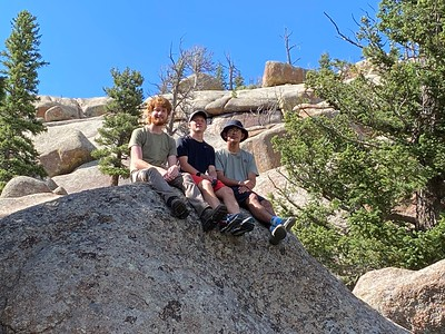 Junior Trip to Wyoming - June 29-July 8