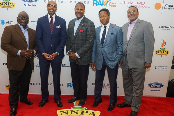NNPA Awards Reception Red Carpet