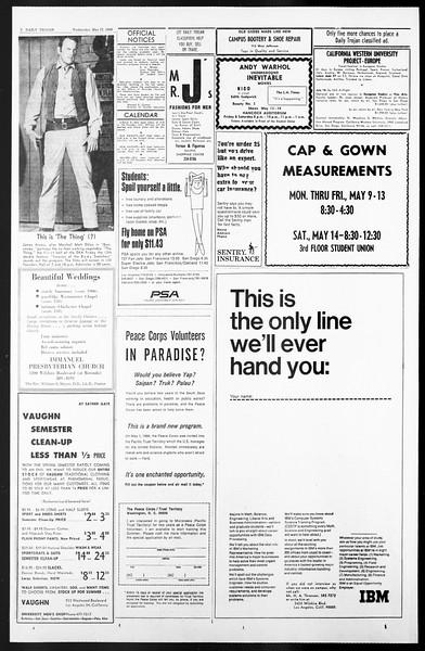 Daily Trojan, Vol. 57, No. 118, May 11, 1966