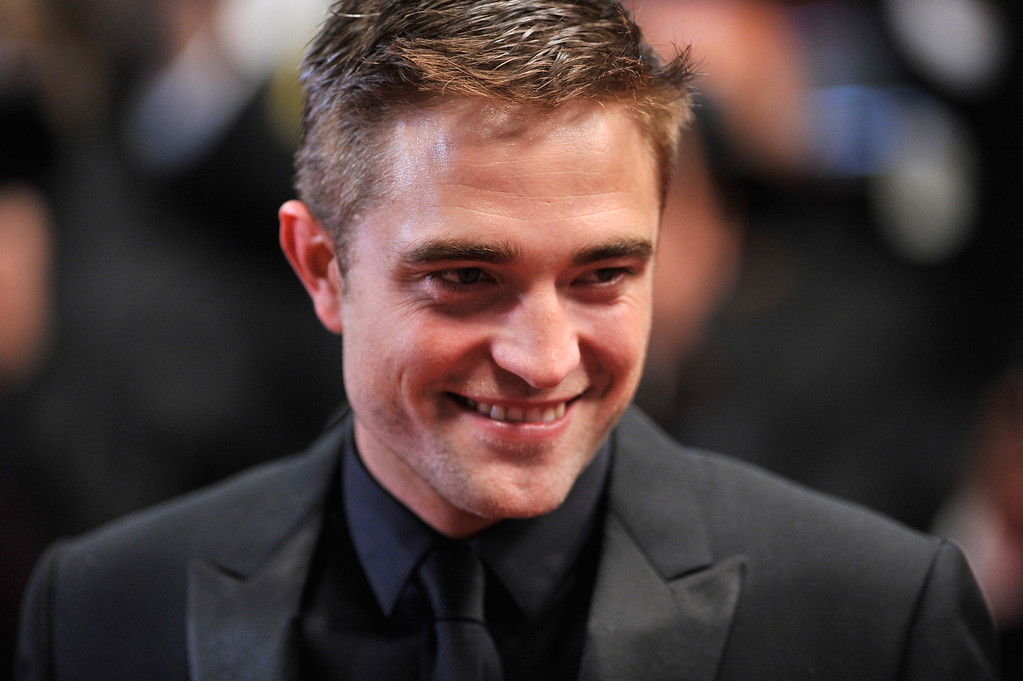 """. Robert Pattinson attends the \""""Maps To The Stars\"""" premiere during the 67th Annual Cannes Film Festival on May 19, 2014 in Cannes, France.  (Photo by Gareth Cattermole/Getty Images)"""