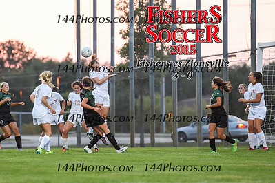 2015 Girls Var Soccer - Zionsville
