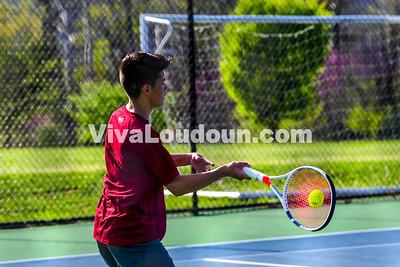 Tennis Boys: Rock Ridge vs Riverside 04.18.2017 (by Al Shipman)