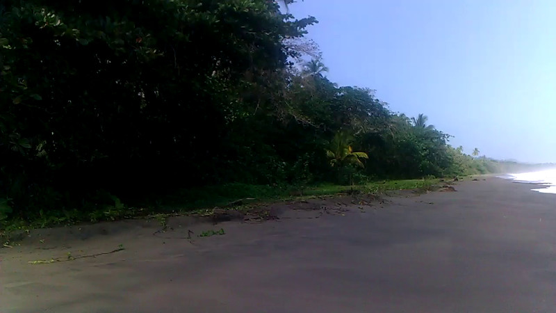 playa negra, all to myself. caribbean.