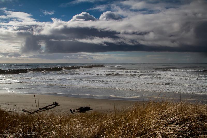 The North Jetty, Ocean Shores, WA.