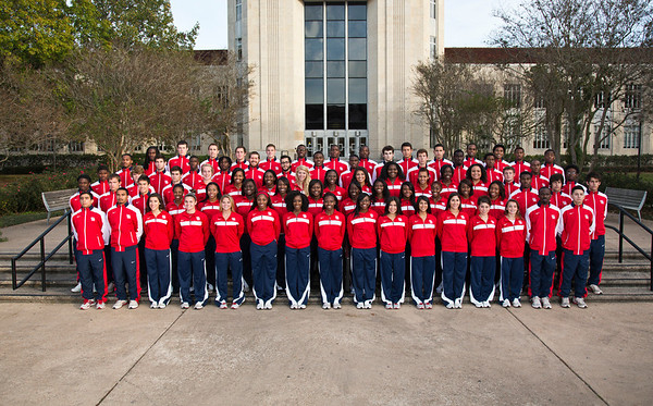 UH Track Team 2012