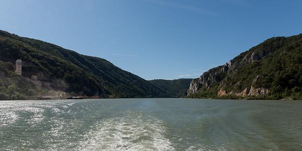 Landscapes along the Danube