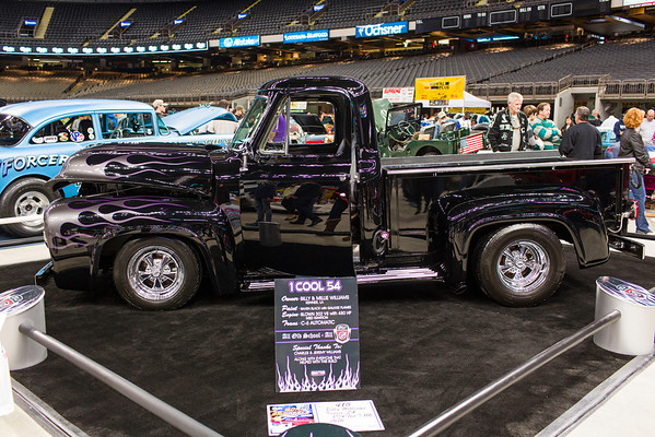 2013 World of Wheels New Orleans Superdome