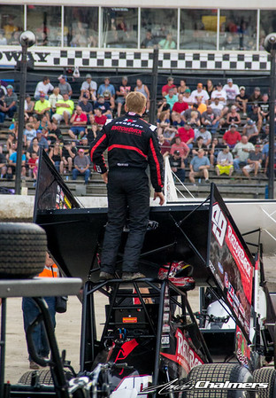 World of Outlaws - Amber Chalmers 7.26.15