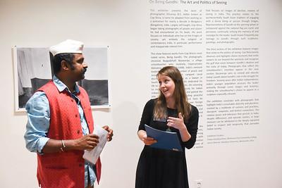 Shivaraju On Being Gandhi: The Art and Politics of Seeing