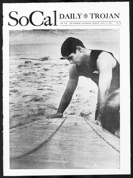 SoCal, Vol. 59, No. 109, April 22, 1968